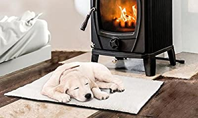 Self Heating Pet Blanket Pad Ideal for Cat/Dog Bed Medium by ITP Imports