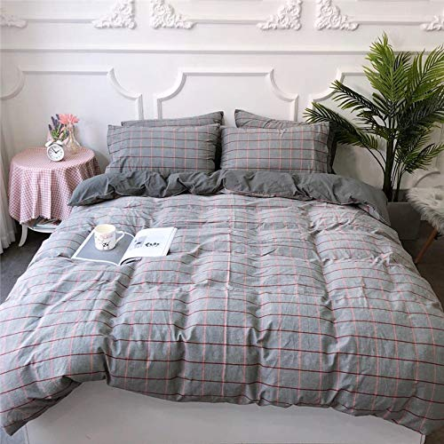 BFMBCH New Vier Jahreszeiten Baumwolle Boutique Bettwäsche einzigen Kissenbezug dreiteilig, vierteilig N1 220cm * 240cm (Bettwäsche Boutique)