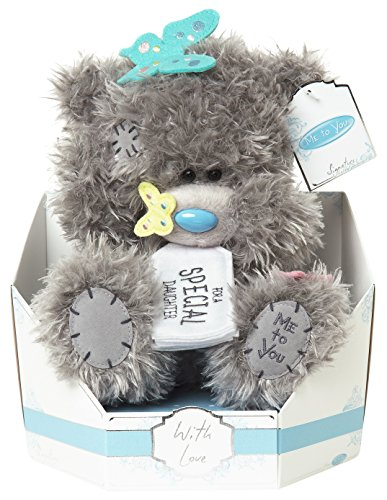 Me To You SG01W4139 9-Inch Tall Tatty Teddy Signature Collection for A Special Daughter Bear Sits Plush Toy