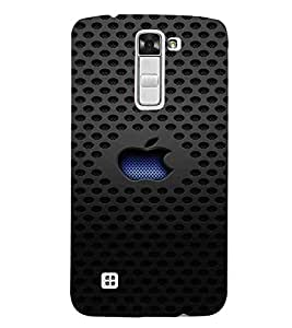 For LG K7 :: LG K7 Dual SIM :: LG K7 X210 X210DS MS330 :: LG Tribute 5 LS675 Dotted Pattern, Black, Lovely Pattern, Beautiful Pattern, Printed Designer Back Case Cover By CHAPLOOS