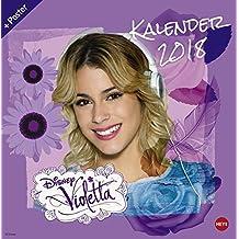Violetta Broschurkalender - Kalender 2018