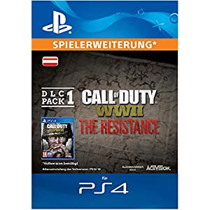 Call of Duty: WWII – The Resistance: DLC Pack 1 DLC | PS4 Download Code – österreichisches Konto