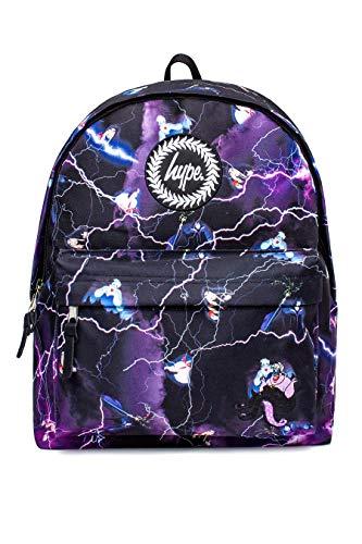 Hype X Disney Pixar Rucksack für Mädchen und Jungen, offizielles Collab, ideal für Reisen Mehrfarbig Villains Lightning (Jungen Für Disney-rucksäcke)