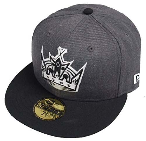 new-era-los-angeles-kings-graphite-cap-59fifty-5950-fitted-special-limited-edition-nhl