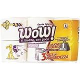 WOW–Papier toilette, 3plis, 32,25mètres/rouleau...