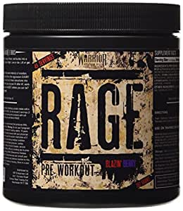 Warrior Rage Blazing Berry Supplement
