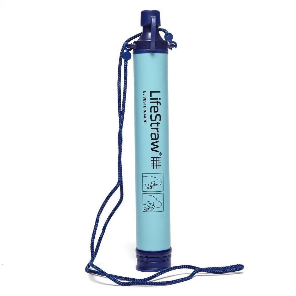 LifeStraw Filtro de Agua Personal Hidratación Frascos Botellas Tazas Azul