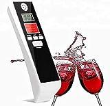 BerryKing Partydrive Alkohol-Tester Digital LCD Display Atemalkohol-Messgerät Test Analyzer Detector Promille Alkoholmessgerät Uhrzeit Alarm Timer. Keine Mundstücke notwendig.