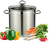 Best Stockpots - Large Deep Stainless Steel Cooking Stock Pot Casserole Review