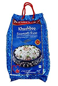 Nature's Gift Khushboo Basmati Rice - Packet of 5Kg