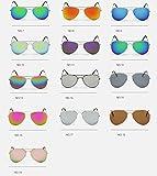 Sonnenbrille Fliegerbrille Brille in vielen Farbkombinationen Klassische Pilotenbrille Verspiegelt Unisex Sonnenbrille Damen Herren Pornobrille Sonne Sommer