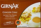 #9: Girnar Instant Tea Premix with Ginger, 10 Sachets