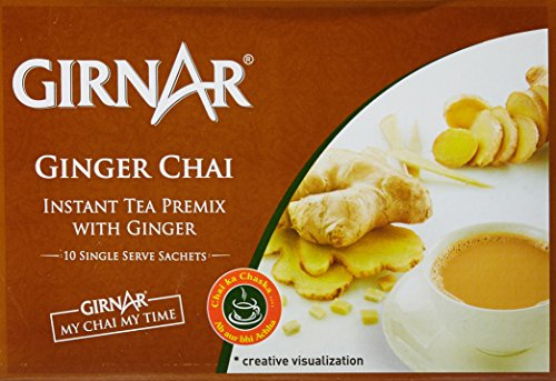 Girnar Instant Tea Premix with Ginger, 10 Sachets