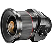 Walimex Pro 24 mm 1:3.5 DSLR Tilt-Shift Objektiv (Filterdurchmesser 82 mm, zwei ED-Linsen, für Nikon F Objektivbajonett) schwarz