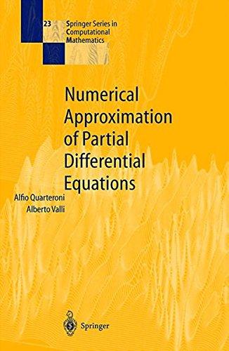 Numerical Approximation of Partial Differential Equations par Alfio Quarteroni