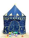Kinderzelt Spielzelt Spielhaus Blau Schloss Zelt Kinder Neu