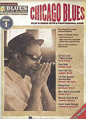 Blues Play-Along Volume 1 Chicago Blues All Instruments Book/Cd