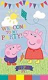 Peppa Pig Fiesta Puerta Pancarta