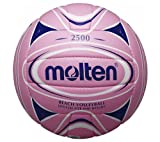 Pink Molten Beach Volleyball Soft Touch Gr. 2 Hand genäht