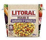 Litoral Ensalada de garbanzos con su vinagreta - Pack de 6