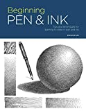 Portfolio: Beginning Pen & Ink:Tips and techniques for learning to draw in pen and ink (English Edition)