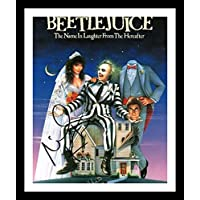 Michael Keaton - Beetlejuice Autographed Signed & Framed Photo Poster