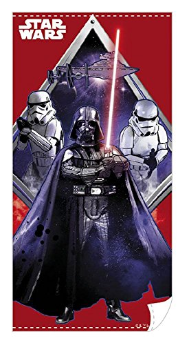 Star Wars - Badetuch Strandtuch - Darth Vader & Stormtrooper - The Dark Side - Episode 4-6 - 140 x 70 cm (Dark Side Star Wars Kostüm)
