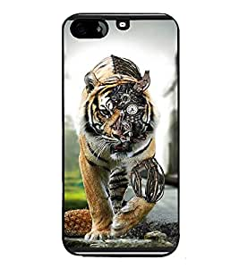 PrintVisa Designer Back Case Cover for Apple iPad Air 2 :: Apple iPad Air 2 Wi-Fi + Cellular (3G/LTE) :: Apple iPad Air 2 Wi-Fi (Wi-Fi, w/o GPS) (Fantacy Art Work Tiger Machinery )
