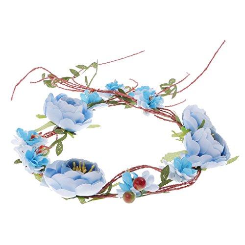 Blumenkranz Hochzeit Blumen Haarband Blumenkrone