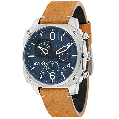 Montre Homme - AVI-8 - Hawker Hunter - Cuir - 45mm - AV-4052-07