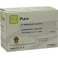 MYLIFE Pura Blutzucker Teststreifen 50 St preisvergleich bei billige-tabletten.eu