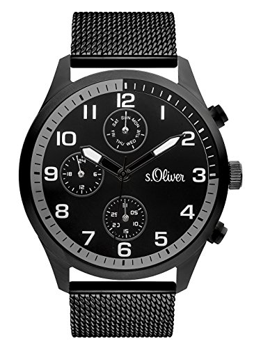 s.Oliver Time Men's Watch SO-3341-MC