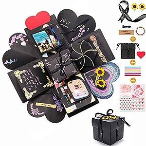 Churidy Kreative Überraschung Box Geburtstag DIY Geschenk Explosions Box Handgemachtes Scrapbook Faltendes Fotoalbum…