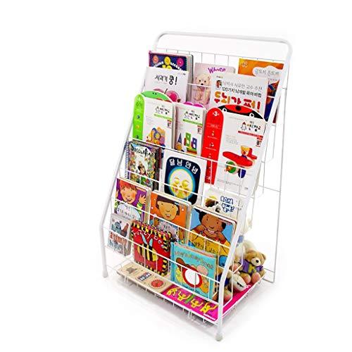 Wanli888 scaffale portariviste in ferro battuto cornici per libri scaffale porta giornaliere espositore a 6 strati