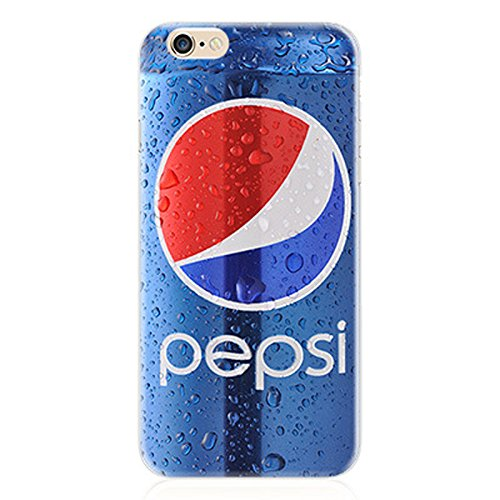 KoalaGroup® IPhone 6/6S (4.7-inch) Case,Ultrathin Product TPU Clear Tpu Cover:Pepsi/Audiotape/Red Lobster/Camouflage/Calculator/Coca Cola/Beer Case For iphone 6/6S (Coca Cola) Pepsi