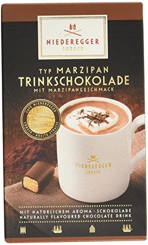 Niederegger Marzipan-Trinkschokolade, 10 Portionsbeutel,2er Pack (2x 250 g) (Spezielle Mit Mandeln Dunkel)