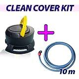 Kit Clean Cover - Pompe vide couverture + kit evacuation d'eau