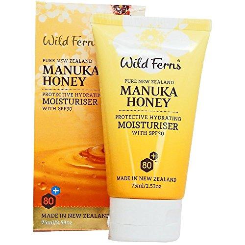 Wild Ferns Manuka Honig Gesichtscreme mit SPF30