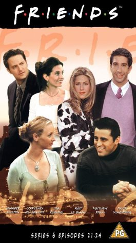 Click for larger image of Friends - Series 6 - Episodes 21-24 [VHS] [1995]
