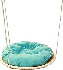 AYCC Pet Hängematte, Handgefertigt, Runde Katzenstreu, Kleine Hund und Katze Haustier Bett, Warme, Komfortable, Atmungsaktive Kissen