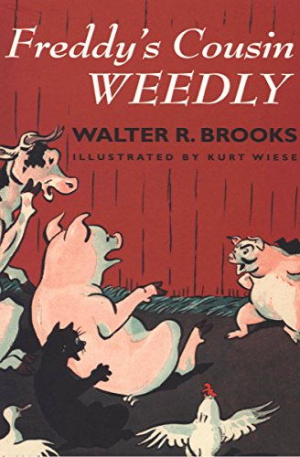 Freddy's Cousin Weedly (Freddy the Pig Book 7) (English Edition)