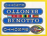BENOTTO vintage stil Campagnolo Rad Rahmen Aufkleber-sticker