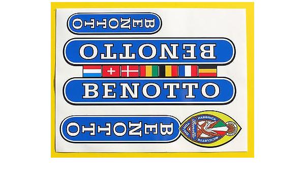 Benotto Vintage Stil Campagnolo Rad Rahmen Aufkleber Sticker Auto
