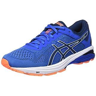 ASICS Men's Gt-1000 6 Competition Running Shoes, (Victoria Dark Blue/Shocking Orange 4549), 10 UK 45 EU