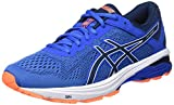 ASICS Herren GT-1000 6 Laufschuhe, Blau (Victoria Dark Blue/Shocking Orange 4549), 45 EU
