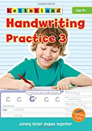 Handwriting Practice: Joining Letter Shapes Together 3 (Letterland)