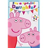 Peppa Pig–Tarjeta de cumpleaños para hija (Pop-Up)