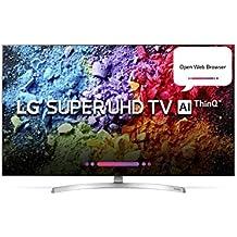 LG 139.7 cm (55 inches) 55SK8500PTA 4K LED Smart TV (Black)