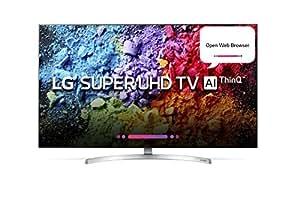LG 139.7 cm (55 inches) 55SK8500PTA 4K Super UHD LED Smart TV (Black)
