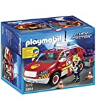 Playmobil Fire Chief´s Car with Lights and Sound vehículo de juguete...